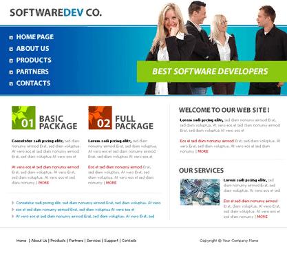Xây dựng website phần mềm