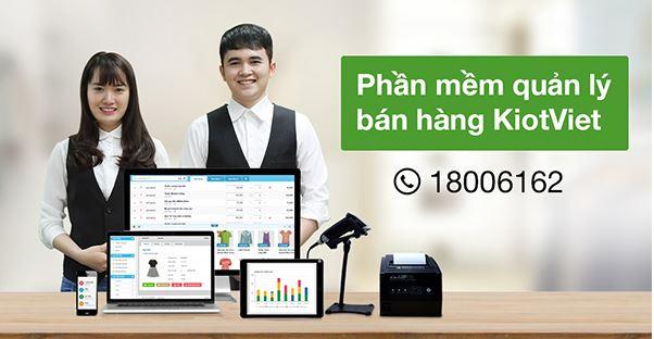 KiotViet cung cấp phần mềm quản lý bán hàng tốt nhất thị trường hiện nay.