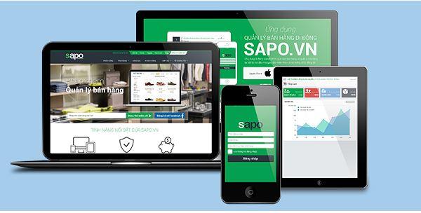 Phần mềm quản lý bán hàng do công ty Sapo cung cấp cũng là lựa chọn tốt cho bạn.