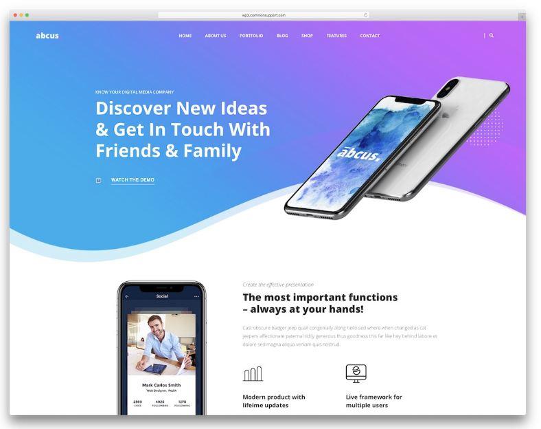 Top 10 mẫu website giới thiệu app điện thoại nổi bật 2019