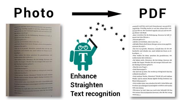 phần mềm trích xuất văn bản cho máy android