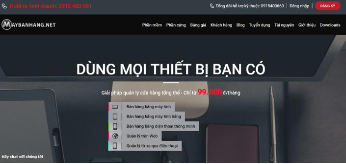 Phần mềm quản lý bán hàng Maybanhang.Net
