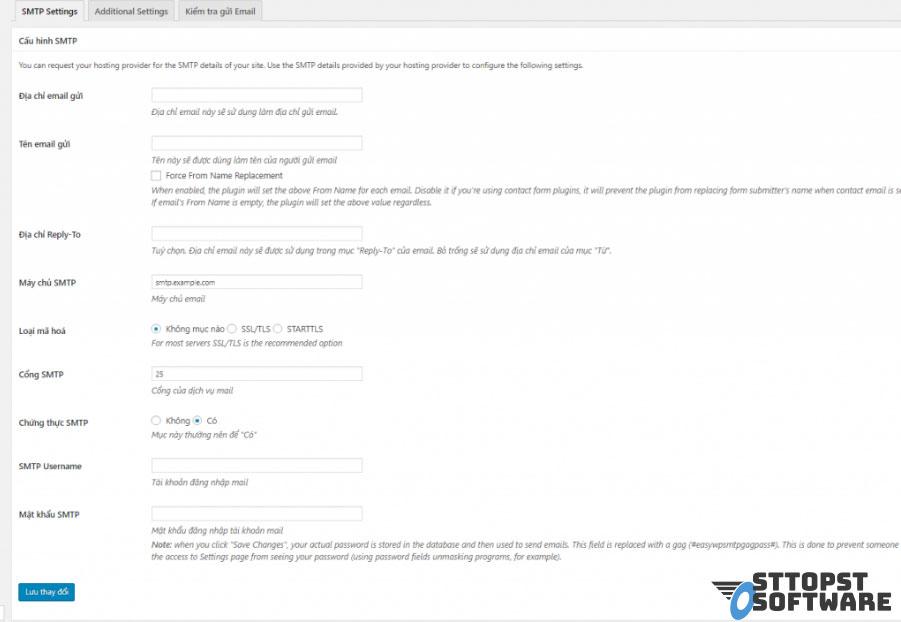 Cài đặt plugin WP Mail SMTP