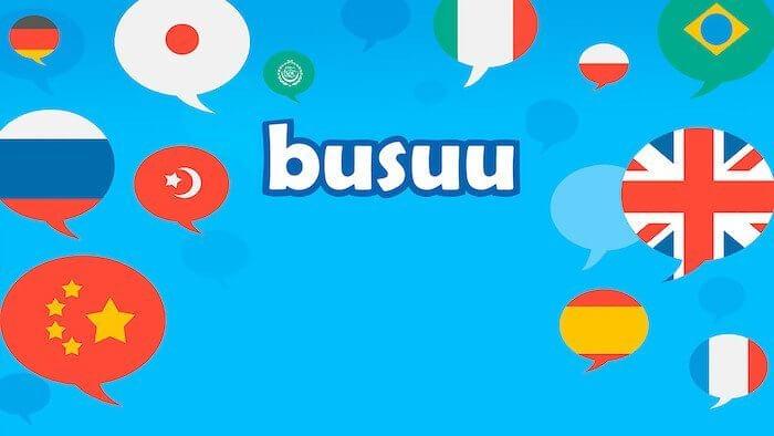 Phần mềm học tiếng anh Busuu