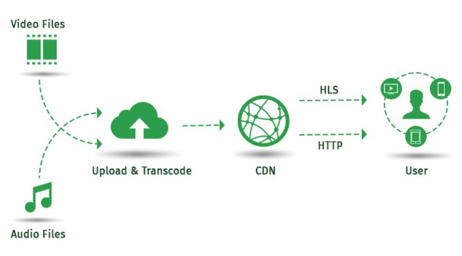Một số hình thức CDN phổ biến hiện nay