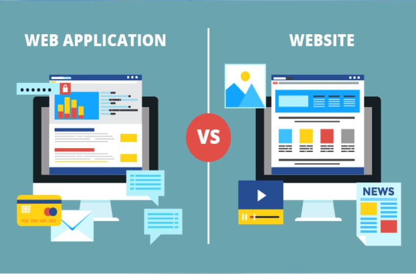 web-app và website có gì khác nhau