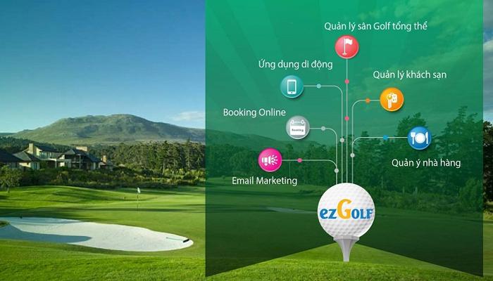 Giải pháp quản lý, giám sát sân tập golf - EzGolf