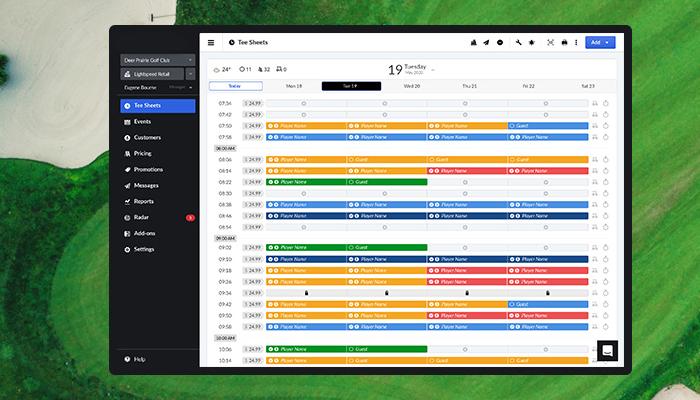 Phần mềm quản lý sân golf chuyên nghiệp - Golf Soft